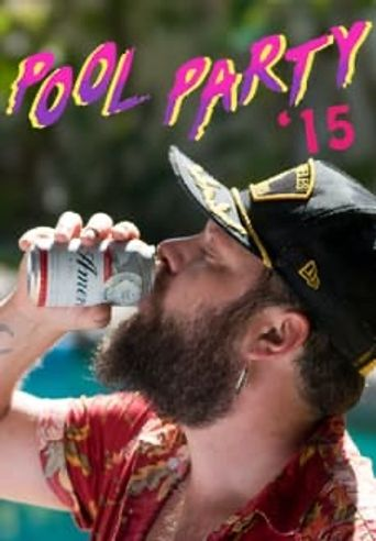 Pool Party '15 Poster
