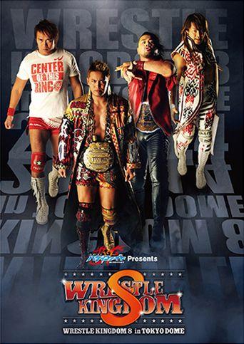 NJPW Wrestle Kingdom 8 Poster