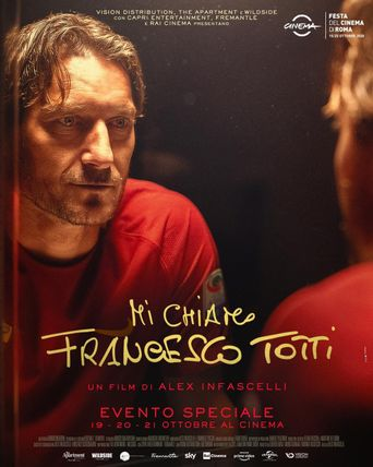 My Name is Francesco Totti Poster