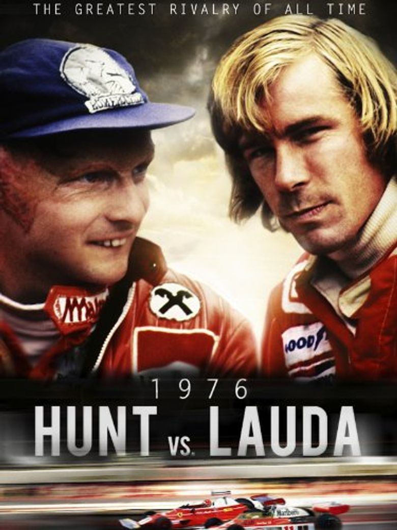 Hunt vs Lauda: F1's Greatest Racing Rivals Poster