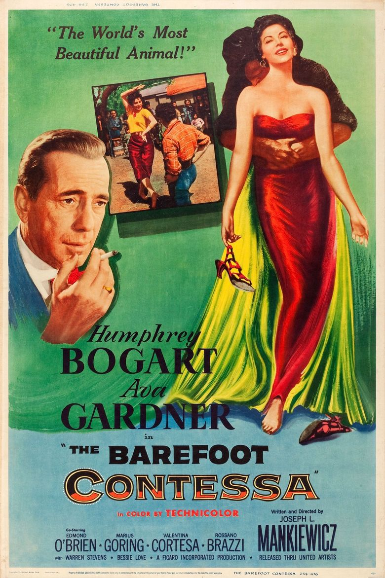 The Barefoot Contessa Poster