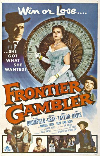 Frontier Gambler Poster