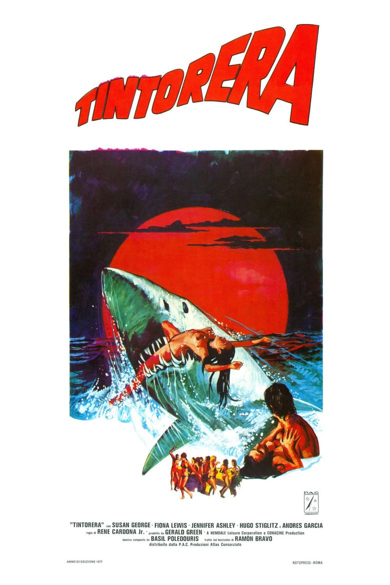 Tintorera: Killer Shark Poster