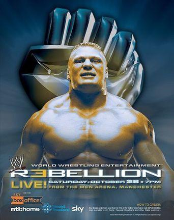 WWE Rebellion 2002 Poster