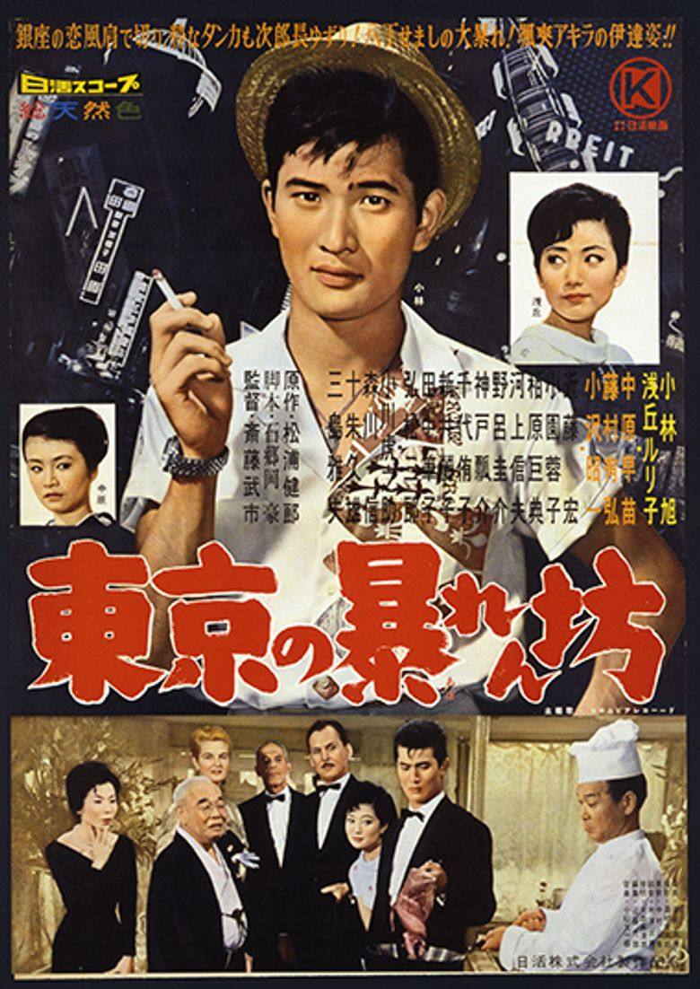 The Tokyo Mighty Guy Poster