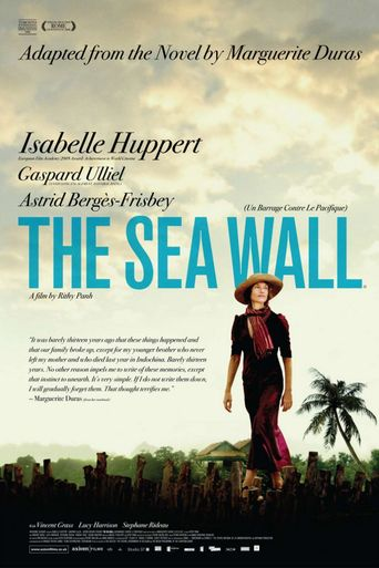 The Sea Wall Poster