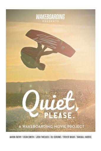 Quiet, Please Poster