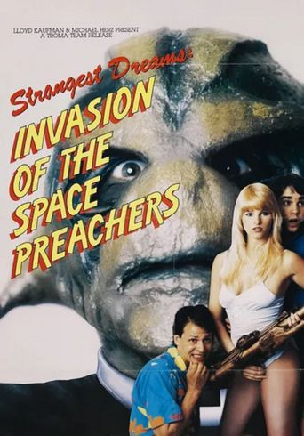 Invasion of the Space Preachers Poster