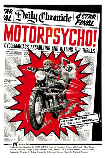 Motor Psycho Poster