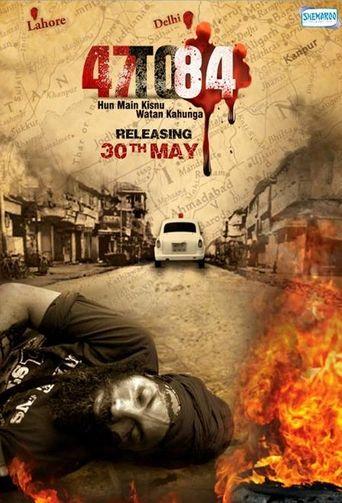 47 to 84: Hun Main Kisnu Watan Kahunga Poster