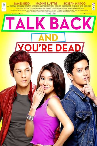 Talk Back and You're Dead Poster