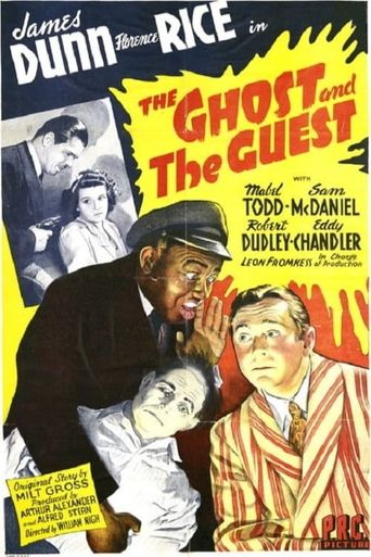 The Ghost and the Guest Poster