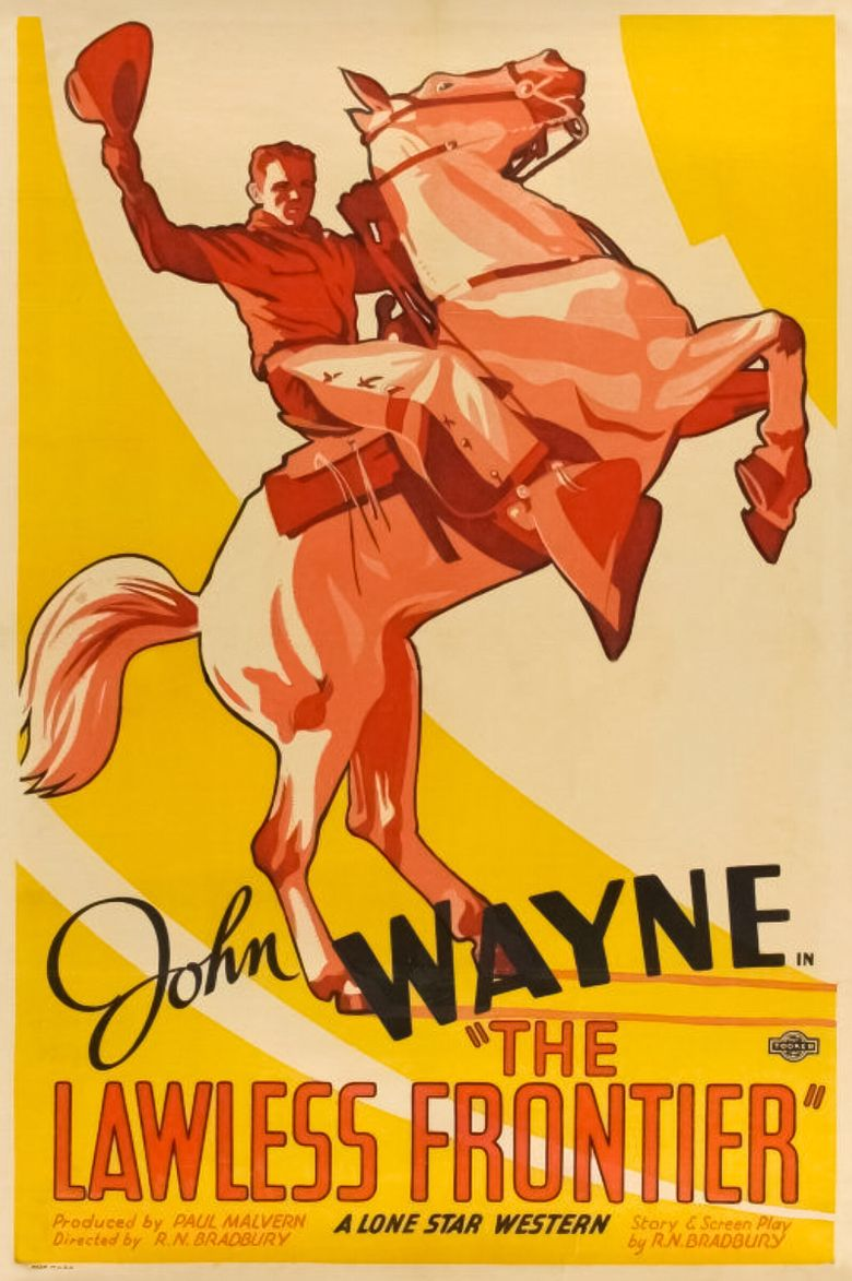 The Lawless Frontier Poster