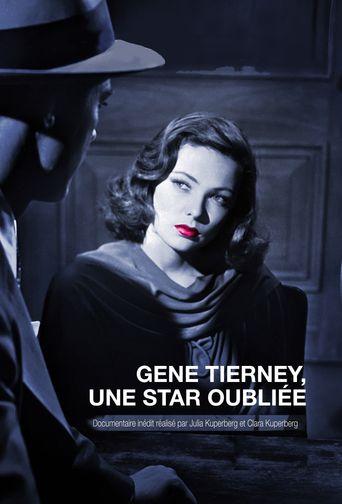 Gene Tierney: A Forgotten Star Poster