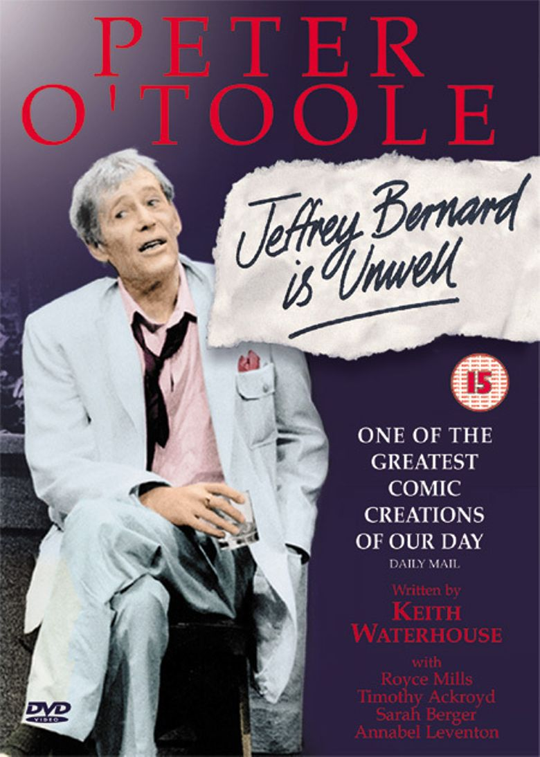Jeffrey Bernard Is Unwell Poster