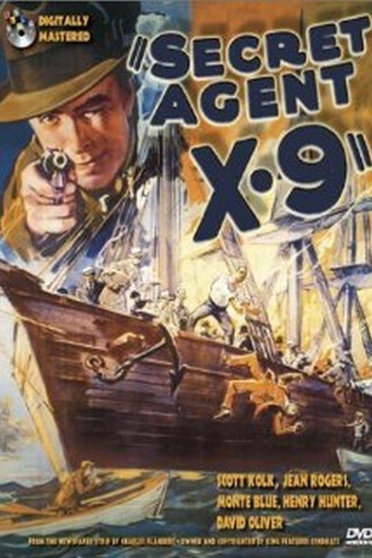 Secret Agent X-9 Poster