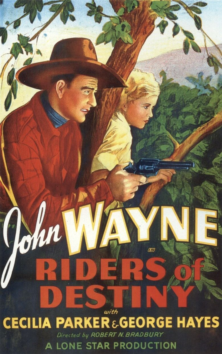Riders of Destiny Poster