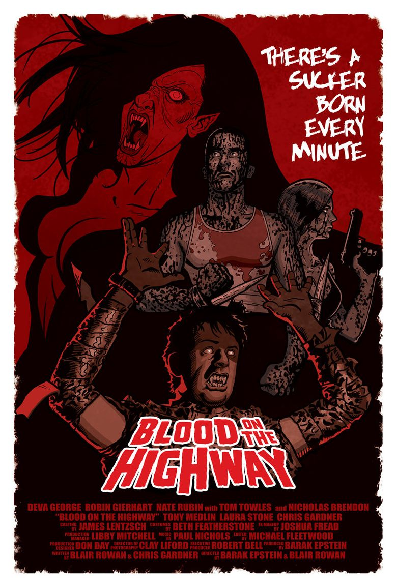 Blood on the Highway Poster