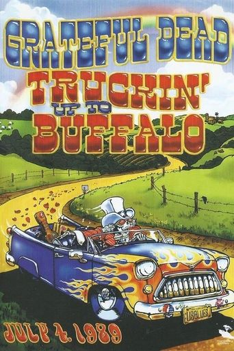 Grateful Dead: Truckin Up to Buffalo Poster