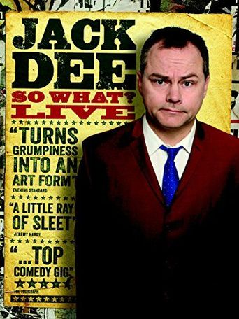 Jack Dee: So What? Live Poster