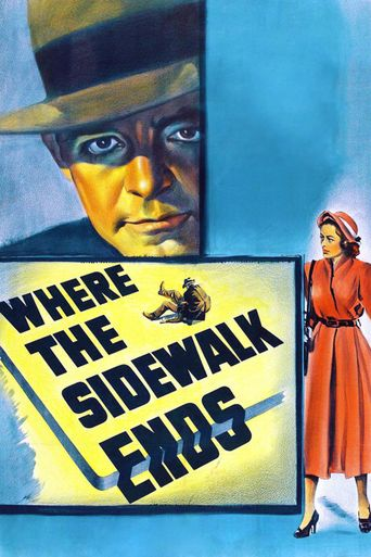 Where the Sidewalk Ends Poster