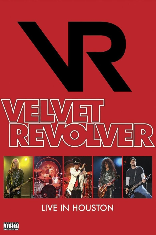 Velvet Revolver - Live In Houston Poster