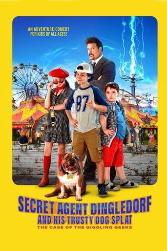 Secret Agent Dingledorf and His Trusty Dog Splat Poster