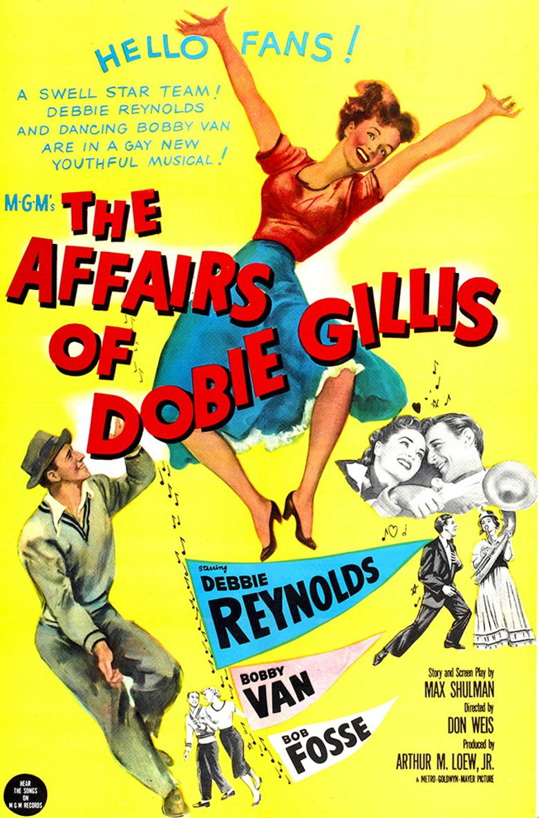 The Affairs of Dobie Gillis Poster