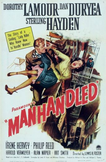 Manhandled Poster