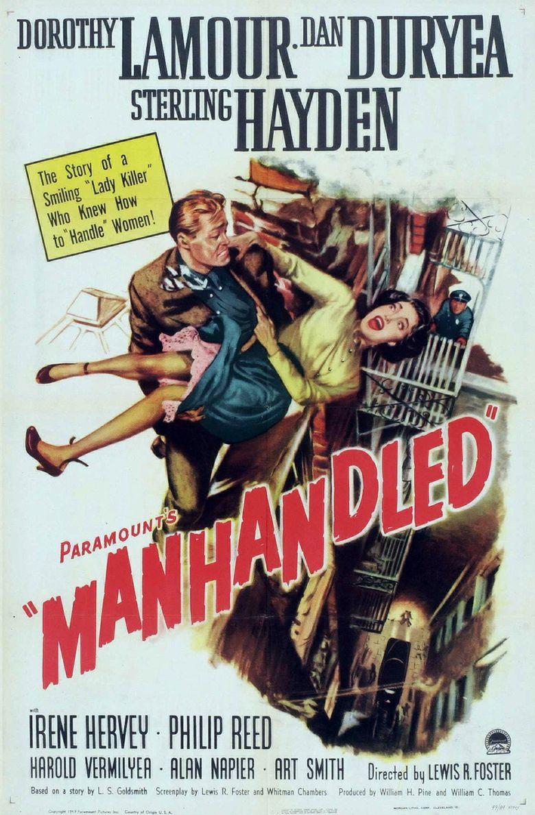 Manhandled Poster