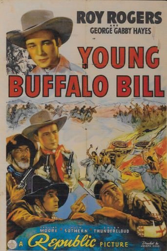 Young Buffalo Bill Poster