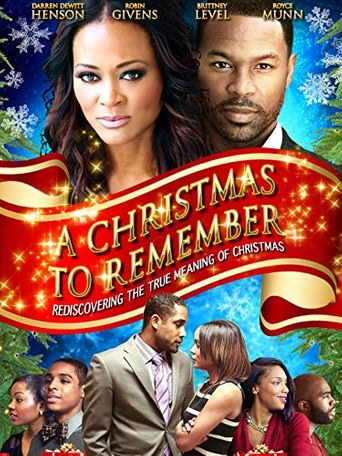 A Christmas to Remember Poster