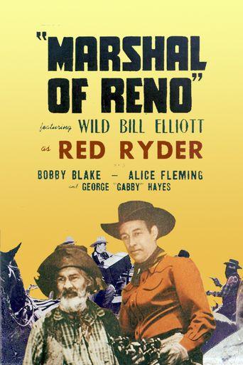 Marshal of Reno Poster