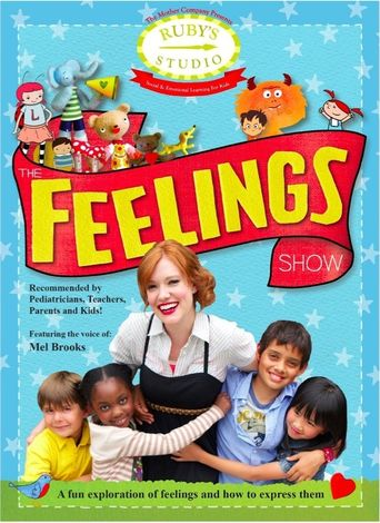 Ruby's Studio: the Feelings Show Poster