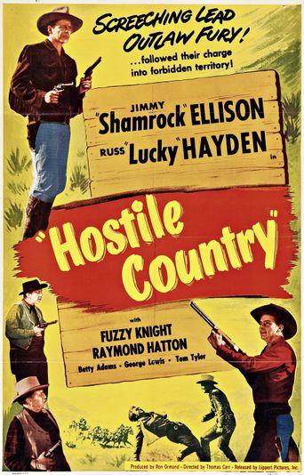 Hostile Country Poster