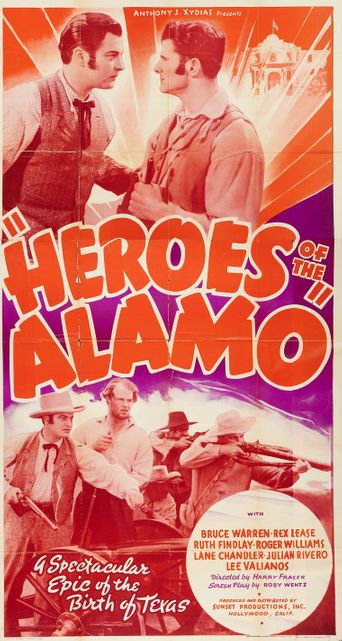Heroes of the Alamo Poster