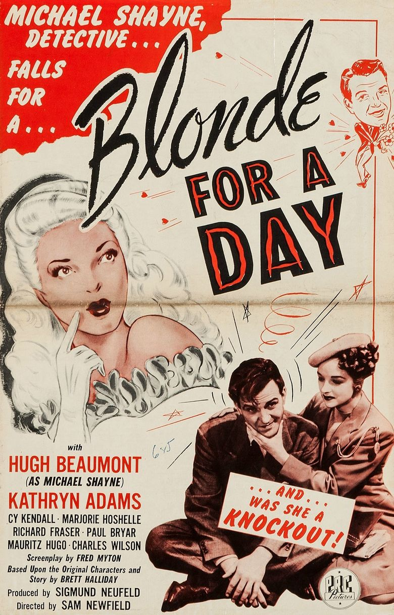 Blonde for a Day Poster