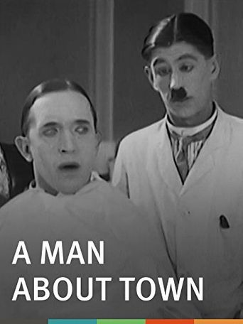 A Man About Town Poster