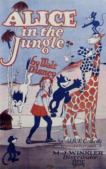 Alice in the Jungle Poster
