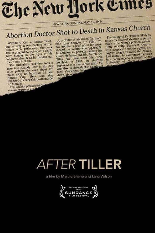 After Tiller Poster