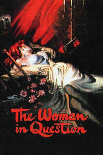The Woman in Question Poster