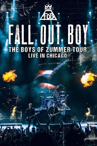 Fall Out Boy: The Boys of Zummer Tour Live in Chicago Poster