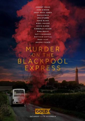 Murder on the Blackpool Express Poster