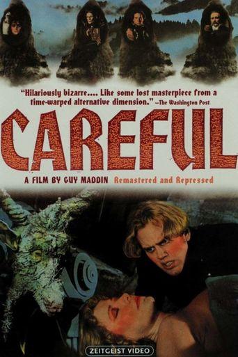 Careful Poster