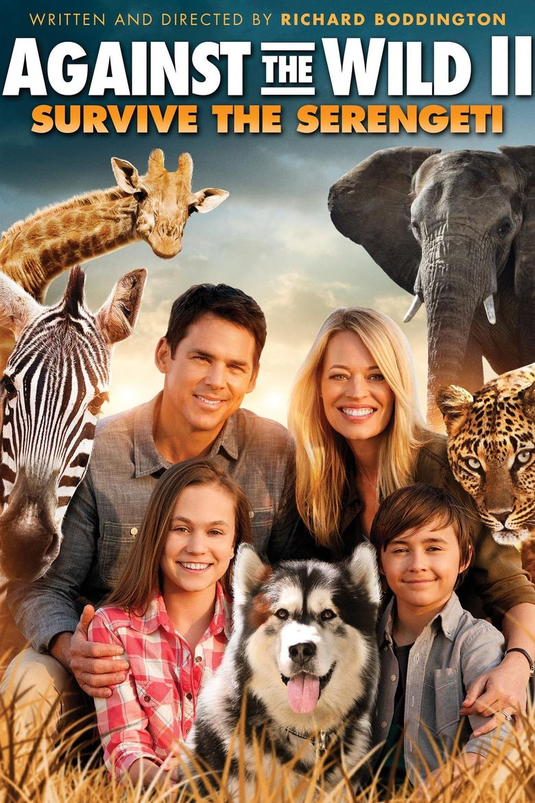 Against the Wild II: Survive the Serengeti Poster