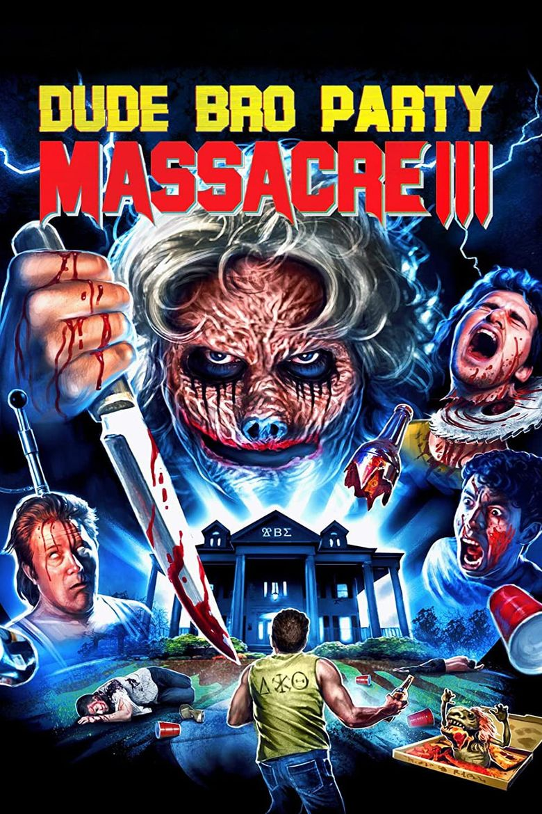Dude Bro Party Massacre III Poster
