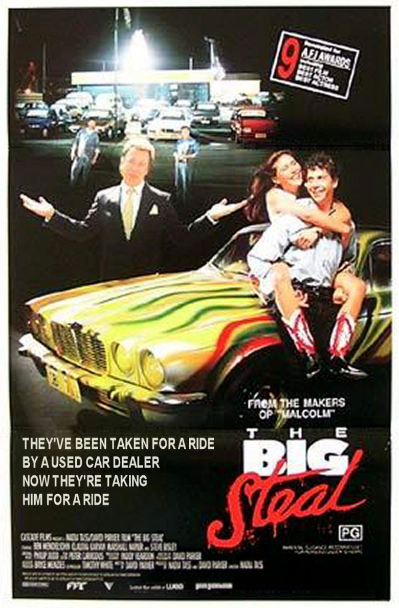 The Big Steal Poster
