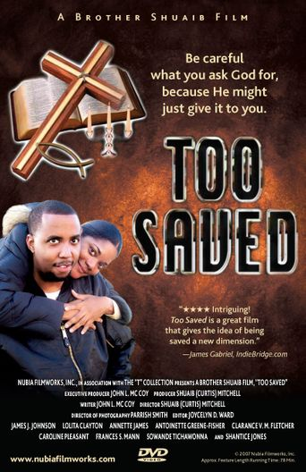 Too Saved Poster