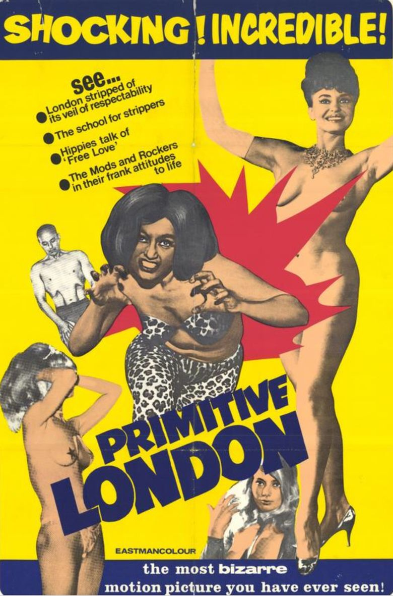 Primitive London Poster