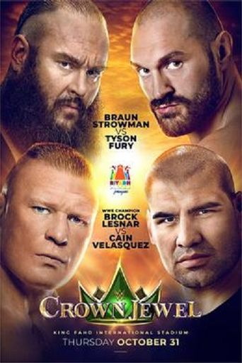 WWE Crown Jewel 2019 Poster